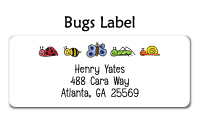 Bugs Waterproof Label