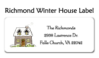Richmond Winter House Photo Card