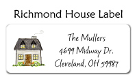 House Family Address Labels