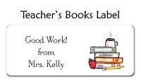 Gray Teachers Class Flat Note Card