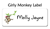 Girl's Three Little Monkeys T-Shirt
