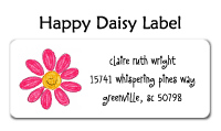 Happy Daisy Flat Card