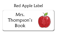 Red Apple Label