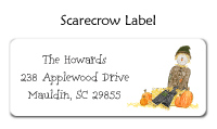Scarecrow Address Labels