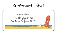 Surfboard Calling Cards