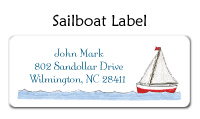 Sailboat Thank You Note