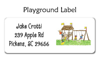 Playground Waterproof Label