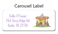 Carousel Thank You Note