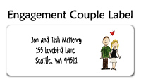 Engagement Couple Photo Invitations