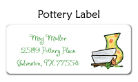 Pottery Waterproof Label