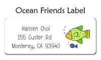 Ocean Friends Thank You Note