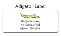 Alligator Folded Notecard