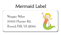 Mermaid Calling Cards