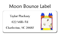 Indoor Moon Bounce Invitations