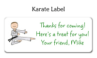Karate Bag Tag