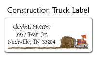 Construction Trucks Invitations