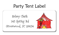 Camping Address Labels