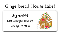 Gingerbread House Calling Cards