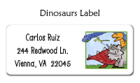 Dinosaur Bag Tag