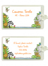 Zoo Photo Invitations
