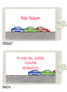 Race Cars Folded Notecard