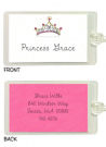 Princess Crown Flat Notecard