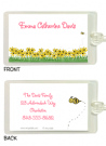 Yellow Daisies Bag Tag