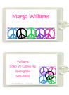 Teen Peace Sign Invitation
