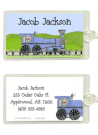 Train Address Labels
