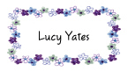 Lucy's Purple Border Invitations