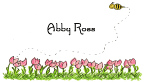 Amy's Tulips Calling Card Design