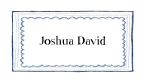 Triple Blue Border Stationery