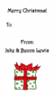 Gift Address Labels