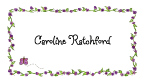 Caroline Purple Border Invitations