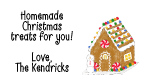 Gingerbread House Address Labels
