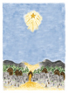 Bethlehem  Personalized Christmas Card