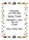 Bugs Baby Shower Invitation Envelope