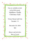 Holiday Gift Invitation