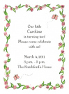 Caroline Border Party Invitation Envelope