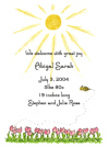 Amy's Tulips Baby Shower Invites