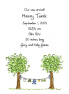 Boy's Laundry Baby Shower Invites
