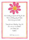 Happy Daisy Invitation