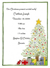 Christmas Baby Baby Shower Invites