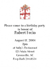 Red Dot Gift Party Invitation Envelope