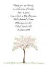 Spring Tree Invitations