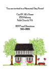 Patriotic House Invitations