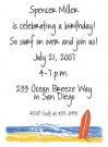 Surfboard Invitations