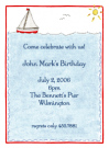 Sailboat Baby Shower Invites