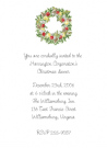 Williamsburg Wreath Thank You Note