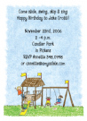 Playground Invitations